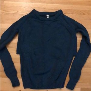 Lululemon Dark Green Sweater